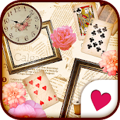 Cute wallpaper★Antique box*
