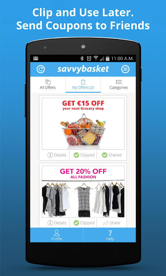 Savvy Basket- screenshot