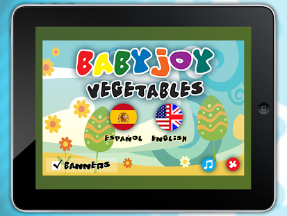 Babyjoy - Vegetables- screenshot thumbnail