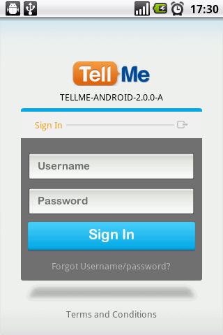 TellMe App