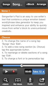 Songwriter's Pad™ for Phones v1.4