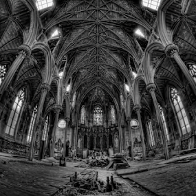 When Architecture was a form of Art by Dawn Robinson - Buildings & Architecture Decaying & Abandoned ( urban exploration, beauty in decay, urban decay, architecture, 1848, abandoned, abandoned church,  )