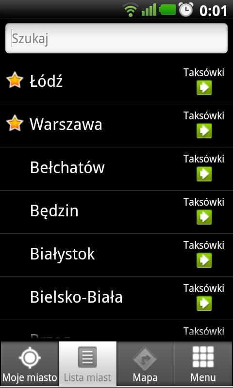 Złap Taxi - screenshot