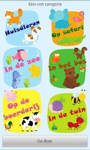 Baby peuter woordjes: Dieren *- screenshot thumbnail
