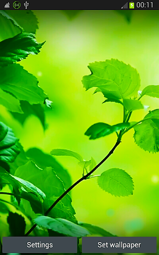 Green World Live Wallpaper