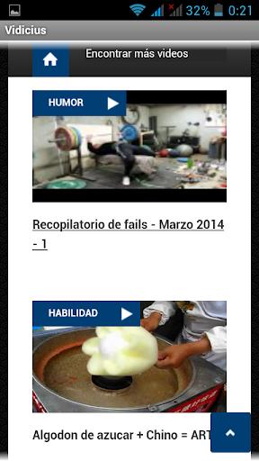 Videos online en Vidicius