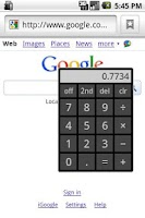 Screenshot of DEMO On Top Calculator