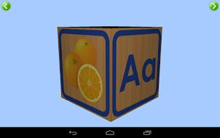Screenshot of Учим буквы и звуки (алфавит)