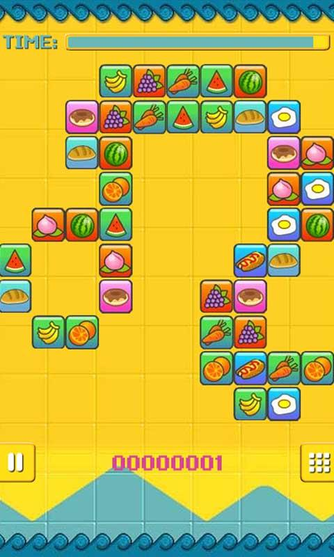 Eat Fruit Link Link- screenshot