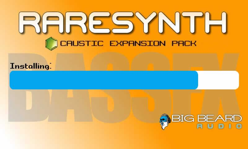 BASSFX Free Caustic pack - screenshot