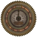 Steampunk Analog Clock icon