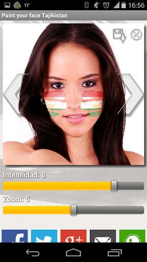 Paint your face Tajikistan