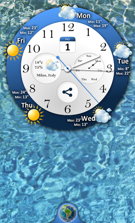 Weather Forecast - screenshot