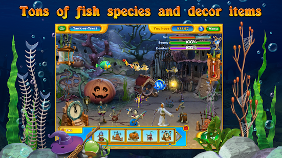 Fishdom Spooky HD - screenshot thumbnail