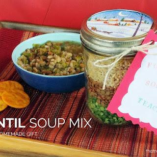 Lentil Soup Mix