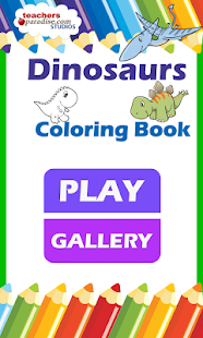 Dinosaurs Coloring Book- screenshot thumbnail