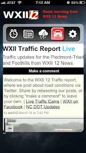 Alarm Clock WXII 12 News - screenshot thumbnail