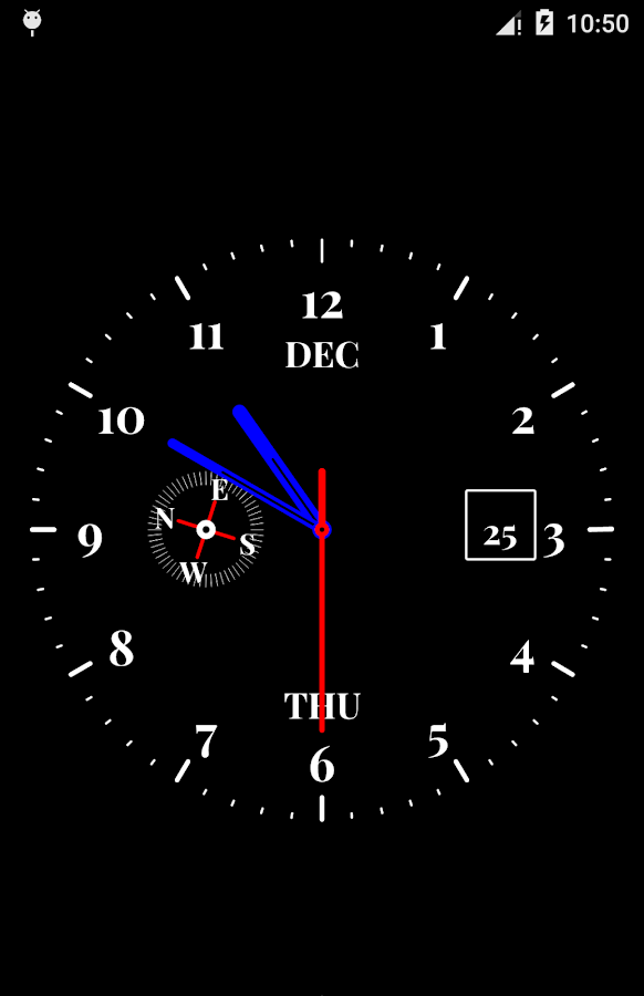 Clock Live Wallpaper Android Apps on Google Play
