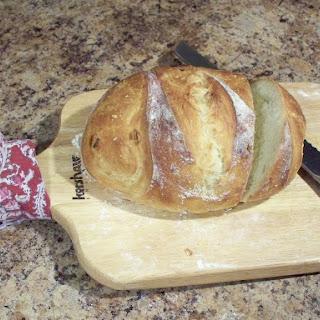 Oven Roasted Garlic Artisan Bread.