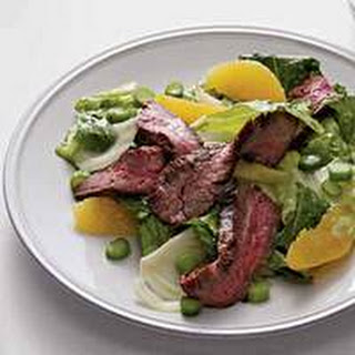 Citrus-Spiked Steak Salad.