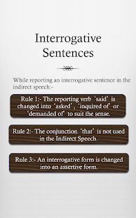 Grammar: Reported Speech - screenshot thumbnail