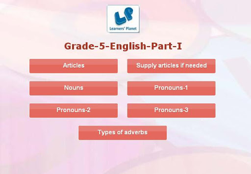 Grade-5-English-Part-1