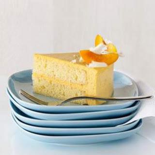 Apricot Bavarian Cream Cake.