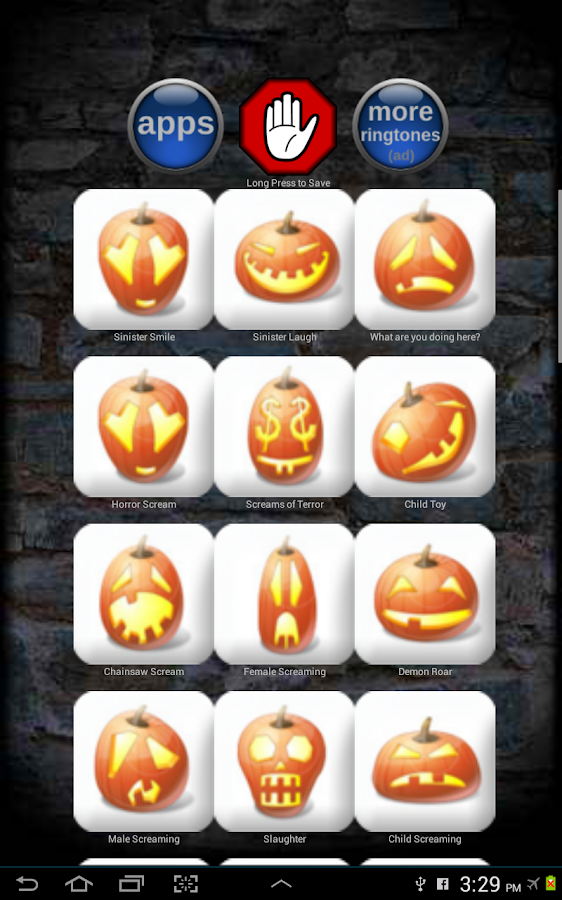 Horror Scary Ringtones - screenshot