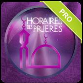 HORAIRES DES PRIERES PRO ★★★★★