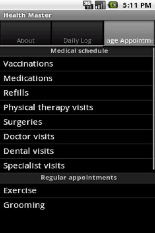 Health Master Free - screenshot