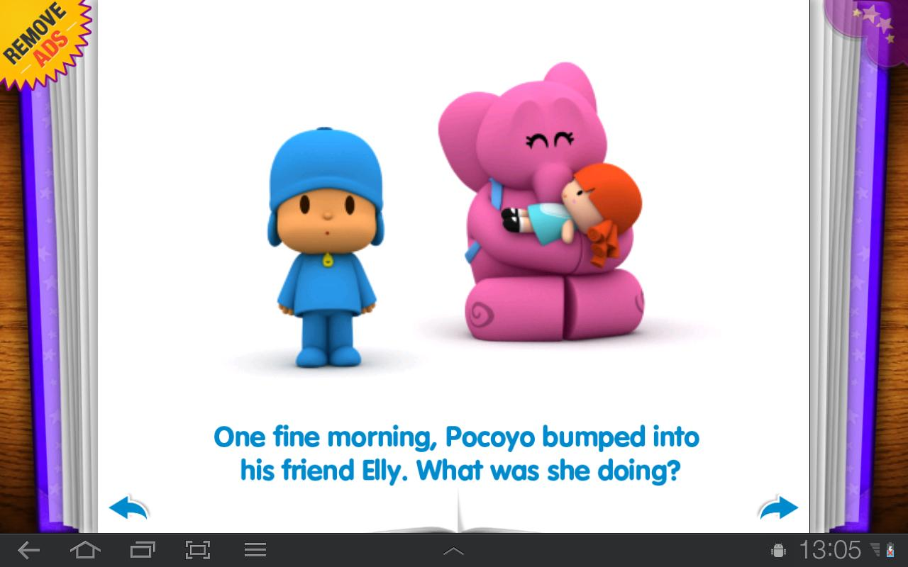 Pocoyo - Elly's Doll - screenshot