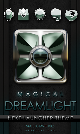 Next Launcher Theme Dreamlight