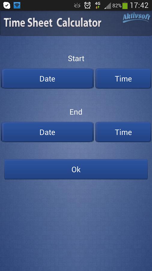timesheet calculator app
