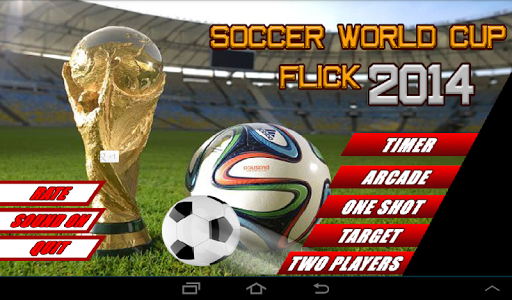 Soccer World Cup 2014 Flick