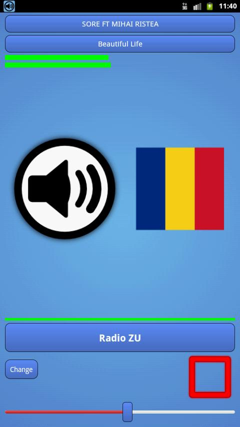 Radio Romania - screenshot