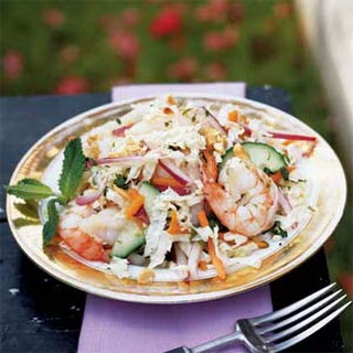 Southeast Asian Cabbage and Shrimp Salad.