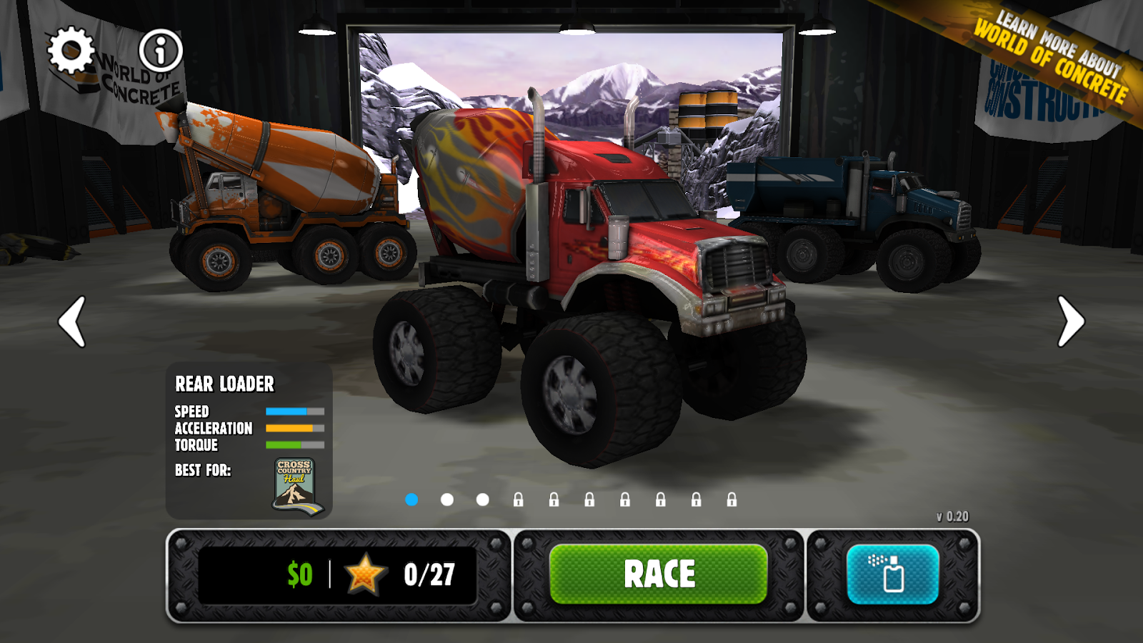 Rig Racin' - screenshot