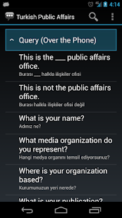 Turkish Public Affairs Phrases - screenshot thumbnail