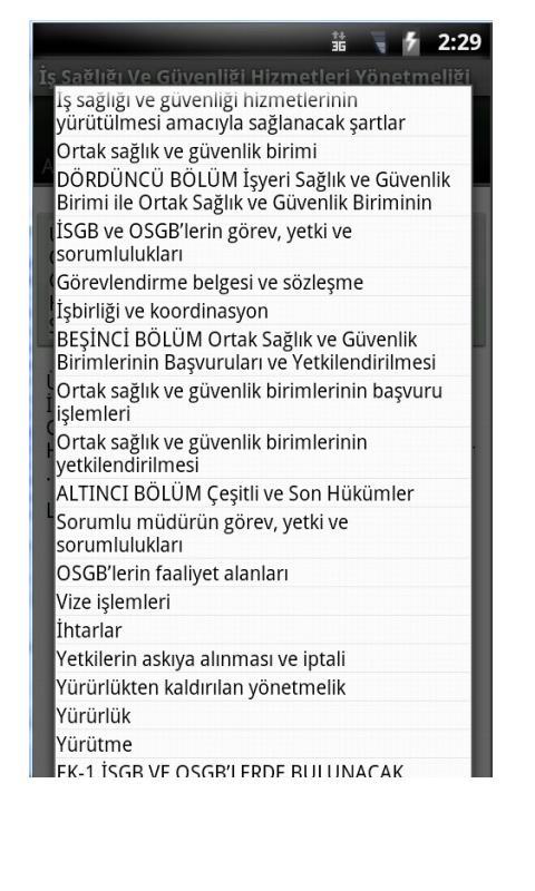 Güncel İSG Hiz. Yönetmeliği - screenshot