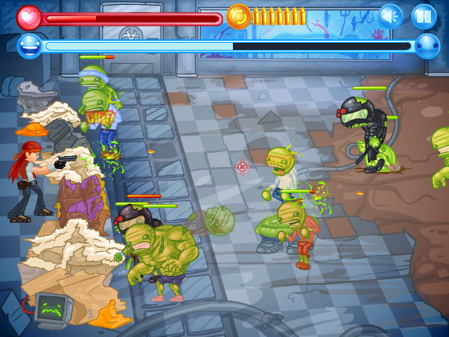 Zombie Defense - CraZ Outbreak- screenshot