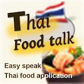 Thai Food Menu Talk