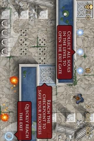 Dante: THE INFERNO game- screenshot