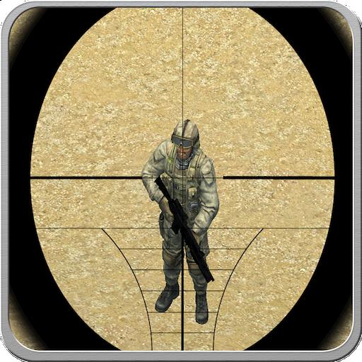 沙漠狙击手射击队 動作 LOGO-玩APPs