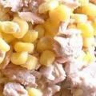 Tuna Mayo & Sweetcorn.