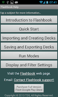 Flashbook Flashcards - screenshot thumbnail
