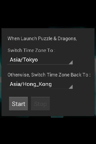 TimeZone Switcher