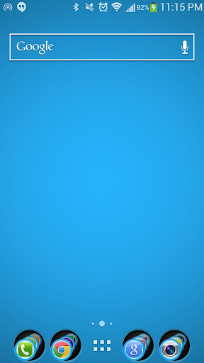 Sky Blue Theme Nova