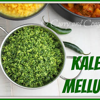 Sri Lankan Kale Mellun - Vegan.
