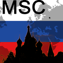 Moscow Map icon