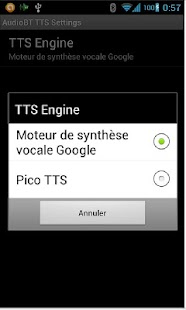 AudioBT with TTS: BT audio GPS - screenshot thumbnail